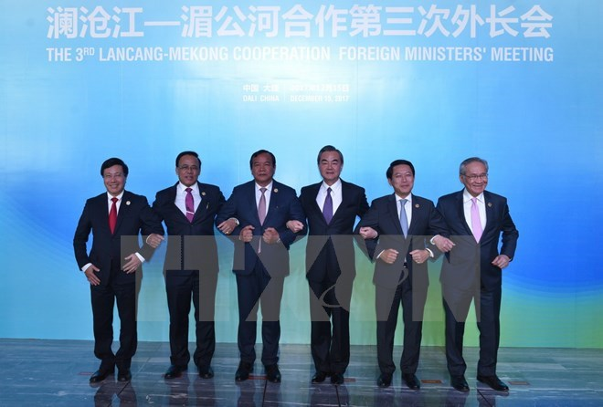 Mekong-Lancang foreign ministers convene third meeting in China, Government news, Vietnam breaking news, politic news, vietnamnet bridge, english news, Vietnam news, news Vietnam, vietnamnet news, Vietnam net news, Vietnam latest news, vn news