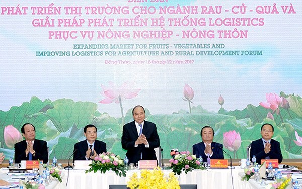 PM urges better logistics for fruit, vegetable exports, vietnam economy, business news, vn news, vietnamnet bridge, english news, Vietnam news, news Vietnam, vietnamnet news, vn news, Vietnam net news, Vietnam latest news, Vietnam breaking news