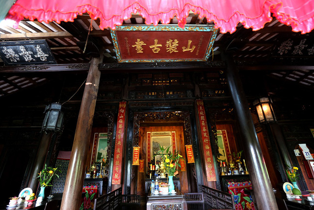 Old house with 120 wooden pillars in Long An, entertainment events, entertainment news, entertainment activities, what's on, Vietnam culture, Vietnam tradition, vn news, Vietnam beauty, news Vietnam, Vietnam news, Vietnam net news, vietnamnet news,