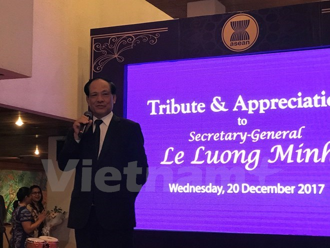 Le Luong Minh to conclude ASEAN Secretary General tenure, Government news, Vietnam breaking news, politic news, vietnamnet bridge, english news, Vietnam news, news Vietnam, vietnamnet news, Vietnam net news, Vietnam latest news, vn news
