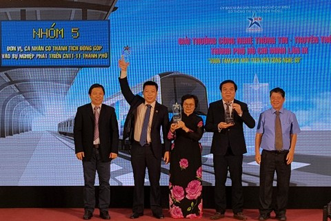 HCM City ICT awards given, IT news, sci-tech news, vietnamnet bridge, english news, Vietnam news, news Vietnam, vietnamnet news, Vietnam net news, Vietnam latest news, Vietnam breaking news, vn news