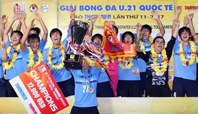 Japan's Yokohama win international U-21 tournament, Sports news, football, Vietnam sports, vietnamnet bridge, english news, Vietnam news, news Vietnam, vietnamnet news, Vietnam net news, Vietnam latest news, vn news, Vietnam breaking news