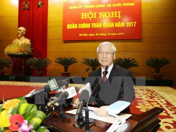 Party chief asks for stronger army, Government news, Vietnam breaking news, politic news, vietnamnet bridge, english news, Vietnam news, news Vietnam, vietnamnet news, Vietnam net news, Vietnam latest news, vn news