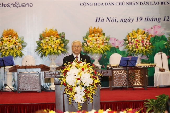 Lao top leader's official friendly visit to Vietnam in pictures, Government news, Vietnam breaking news, politic news, vietnamnet bridge, english news, Vietnam news, news Vietnam, vietnamnet news, Vietnam net news, Vietnam latest news, vn news