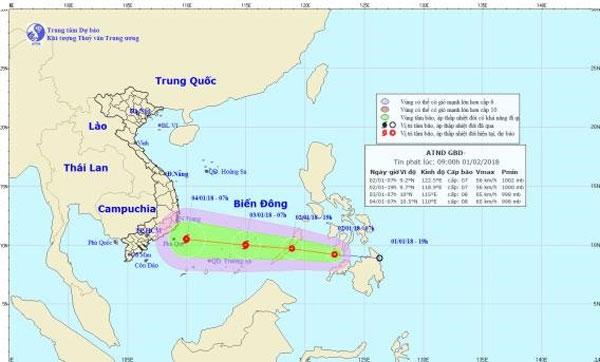 Tropical low-pressure system, East Sea, typhoon, Vietnam economy, Vietnamnet bridge, English news about Vietnam, Vietnam news, news about Vietnam, English news, Vietnamnet news, latest news on Vietnam, Vietnam