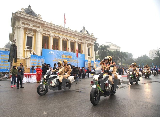 Year of Traffic Safety 2018 launched in Hanoi, Ho Chi Minh City, social news, vietnamnet bridge, english news, Vietnam news, news Vietnam, vietnamnet news, Vietnam net news, Vietnam latest news, vn news, Vietnam breaking news
