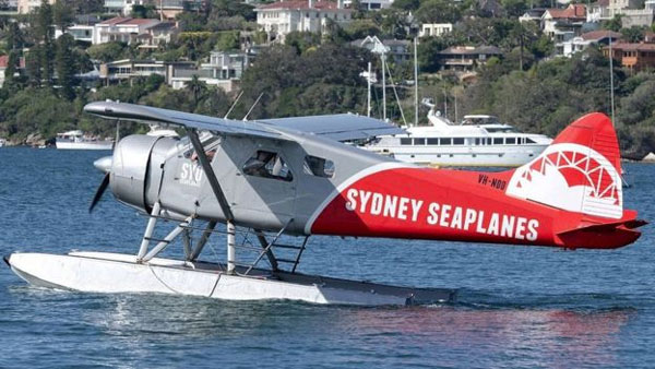 Sydney, accident, seaplane crash