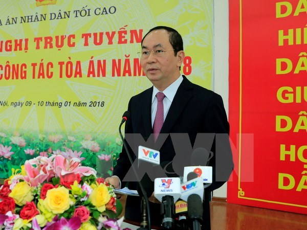 President requests serious handling of economic, corruption cases, Government news, Vietnam breaking news, politic news, vietnamnet bridge, english news, Vietnam news, news Vietnam, vietnamnet news, Vietnam net news, Vietnam latest news, vn news