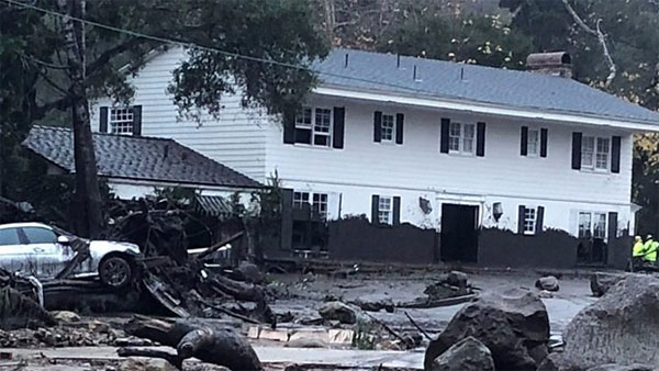 California, Montecito, rains, mudslides