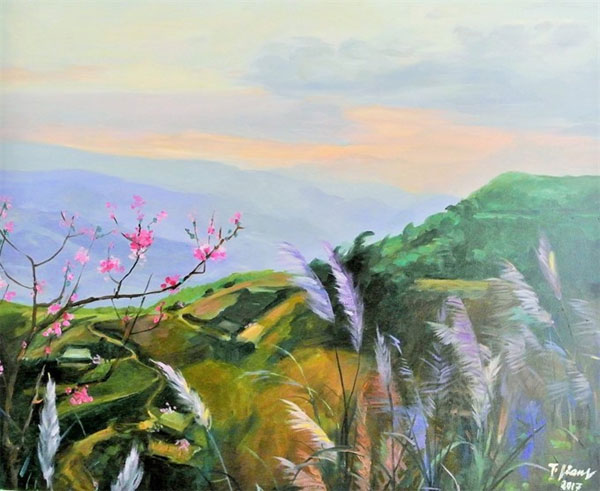 Exhibition, painting, People's Artist and movie star Tra Giang, Vietnam economy, Vietnamnet bridge, English news about Vietnam, Vietnam news, news about Vietnam, English news, Vietnamnet news, latest news on Vietnam, Vietnam