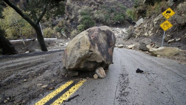 California, mudslides, death toll rises, missing