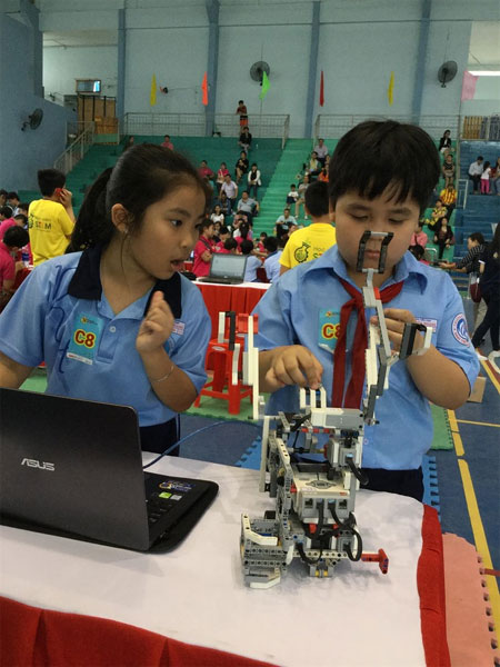 STEM education, Robothon Contest 2017, Vietnam economy, Vietnamnet bridge, English news about Vietnam, Vietnam news, news about Vietnam, English news, Vietnamnet news, latest news on Vietnam, Vietnam