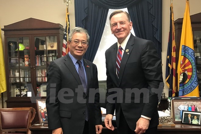 Vietnam, US seek stronger cooperation in energy, defence, Government news, Vietnam breaking news, politic news, vietnamnet bridge, english news, Vietnam news, news Vietnam, vietnamnet news, Vietnam net news, Vietnam latest news, vn news