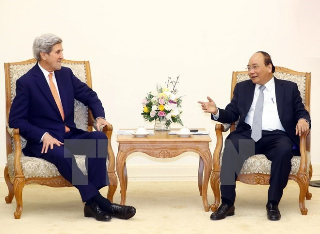 Prime Minister welcomes former US Secretary of State, Government news, Vietnam breaking news, politic news, vietnamnet bridge, english news, Vietnam news, news Vietnam, vietnamnet news, Vietnam net news, Vietnam latest news, vn news