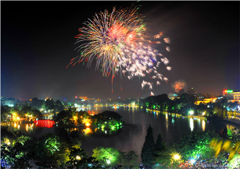 Firework shows to light up Hanoi skies during Tet, entertainment events, entertainment news, entertainment activities, what's on, Vietnam culture, Vietnam tradition, vn news, Vietnam beauty, news Vietnam, Vietnam news, Vietnam net news, vietnamnet news, v