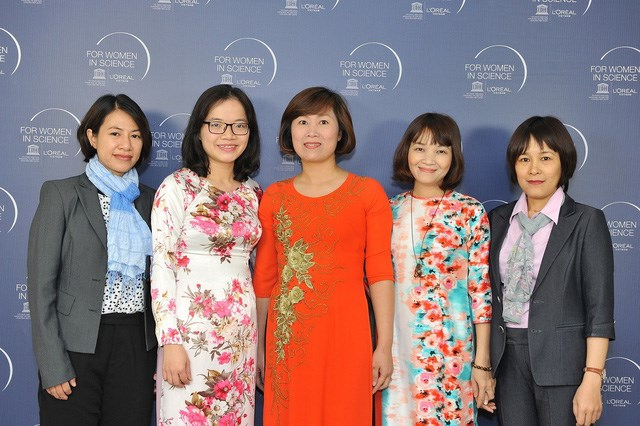 Five Vietnamese female scientists win L'Oreal-UNESCO awards, IT news, sci-tech news, vietnamnet bridge, english news, Vietnam news, news Vietnam, vietnamnet news, Vietnam net news, Vietnam latest news, Vietnam breaking news, vn news