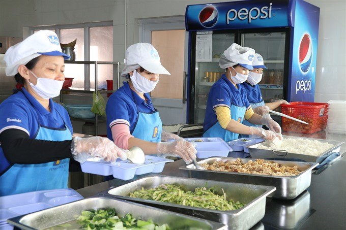 Better meals make better workers, social news, vietnamnet bridge, english news, Vietnam news, news Vietnam, vietnamnet news, Vietnam net news, Vietnam latest news, vn news, Vietnam breaking news