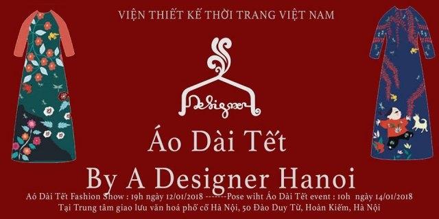 Tet ao dai show opens in Hanoi