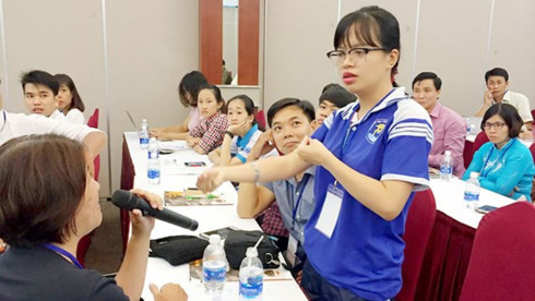 Disabled students given opportunities to get better education, social news, vietnamnet bridge, english news, Vietnam news, news Vietnam, vietnamnet news, Vietnam net news, Vietnam latest news, vn news, Vietnam breaking news