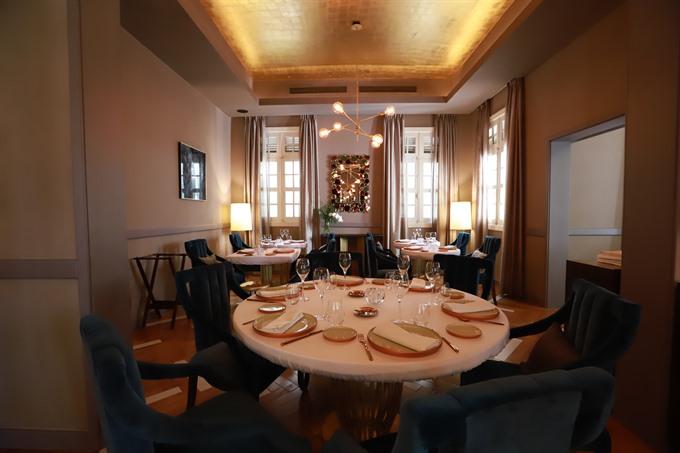 Michelin starred restaurant opens in hcm city news for Jardin des sens vietnam