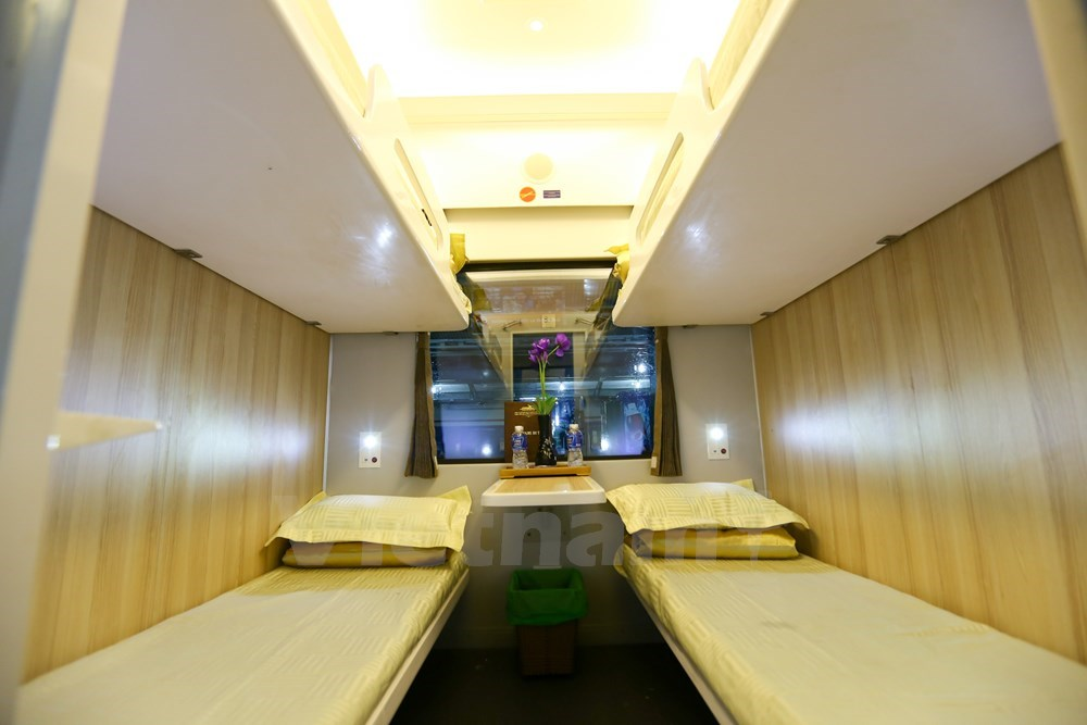 New experience on most modern 'five-star' trains in Vietnam, travel news, Vietnam guide, Vietnam airlines, Vietnam tour, tour Vietnam, Hanoi, ho chi minh city, Saigon, travelling to Vietnam, Vietnam travelling, Vietnam travel, vn news
