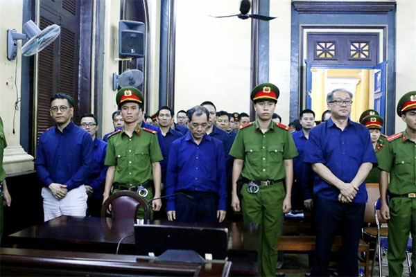 Pham Cong Danh acknowledges money transfer