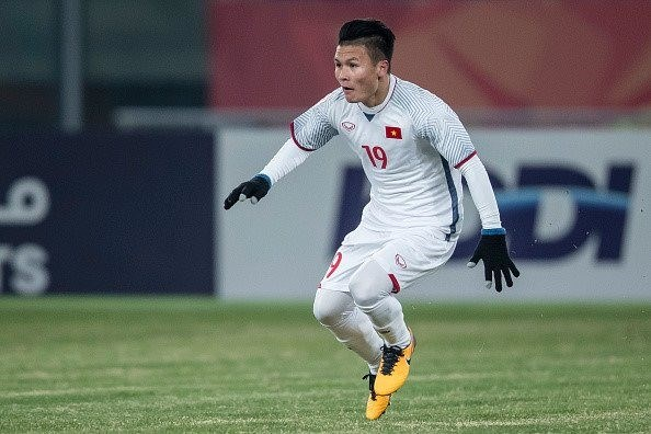 AFC honours Vietnamese midfielder's goal at U23 event