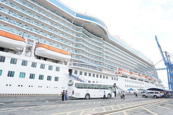 Vietnam sees sharp rise in cruise ship visits
