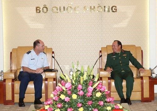 Adjutant General of Oregon National Guard welcomed in Hanoi, Government news, Vietnam breaking news, politic news, vietnamnet bridge, english news, Vietnam news, news Vietnam, vietnamnet news, Vietnam net news, Vietnam latest news, vn news
