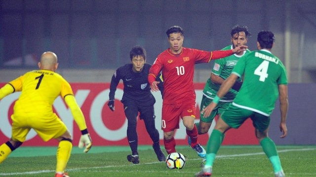 U23 Việt Nam chuẩn bị trận đấu với Qatar trong vòng bán kết