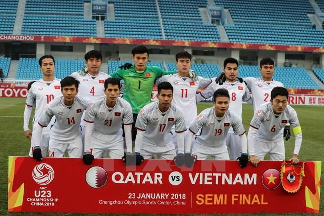 Vietnam's U23 team receives rewards for final march berth, Sports news, football, Vietnam sports, vietnamnet bridge, english news, Vietnam news, news Vietnam, vietnamnet news, Vietnam net news, Vietnam latest news, vn news, Vietnam breaking news