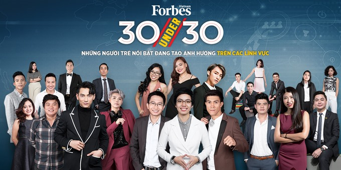 Forbes Vietnam announces 30 Under 30 list, vietnam economy, business news, vn news, vietnamnet bridge, english news, Vietnam news, news Vietnam, vietnamnet news, vn news, Vietnam net news, Vietnam latest news, Vietnam breaking news