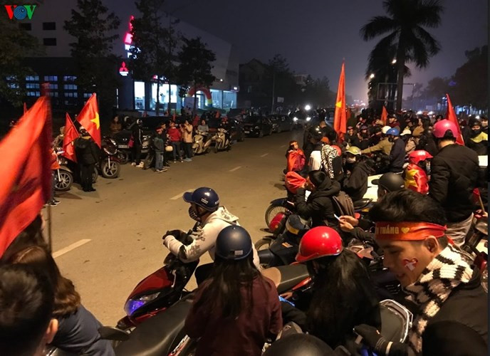 Vietnamese football stars welcomed in their hometown, u23 vietnam, Sports news, football, Vietnam sports, vietnamnet bridge, english news, Vietnam news, news Vietnam, vietnamnet news, Vietnam net news, Vietnam latest news, vn news, Vietnam breaking news
