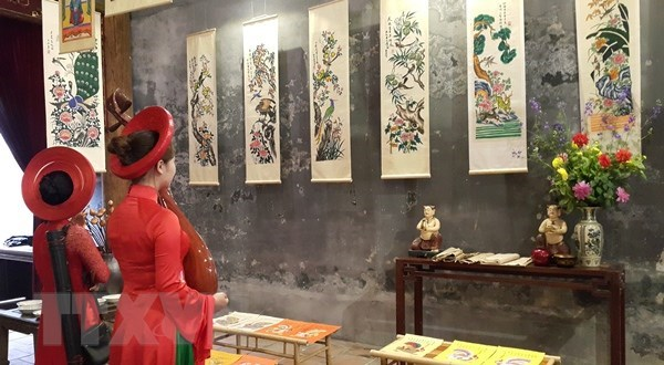 Exhibition of folk paintings opens in Da Nang, entertainment events, entertainment news, entertainment activities, what's on, Vietnam culture, Vietnam tradition, vn news, Vietnam beauty, news Vietnam, Vietnam news, Vietnam net news, vietnamnet news, vietn