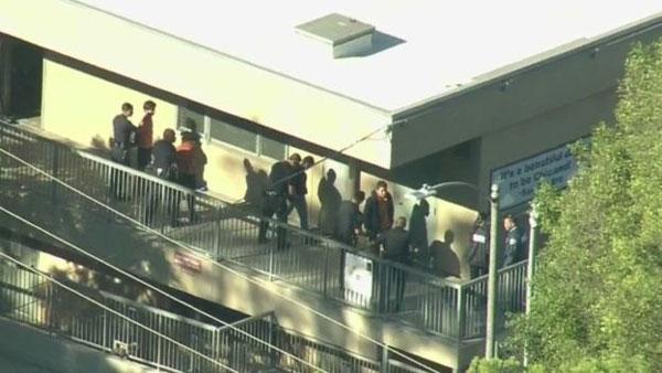 Los Angeles, school, shooting, unintentional