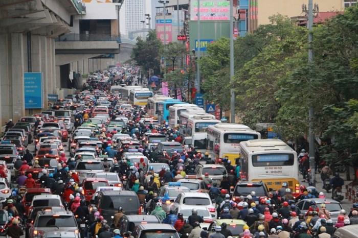 Hanoi plans solutions to ease traffic jams on Tet, social news, vietnamnet bridge, english news, Vietnam news, news Vietnam, vietnamnet news, Vietnam net news, Vietnam latest news, vn news, Vietnam breaking news