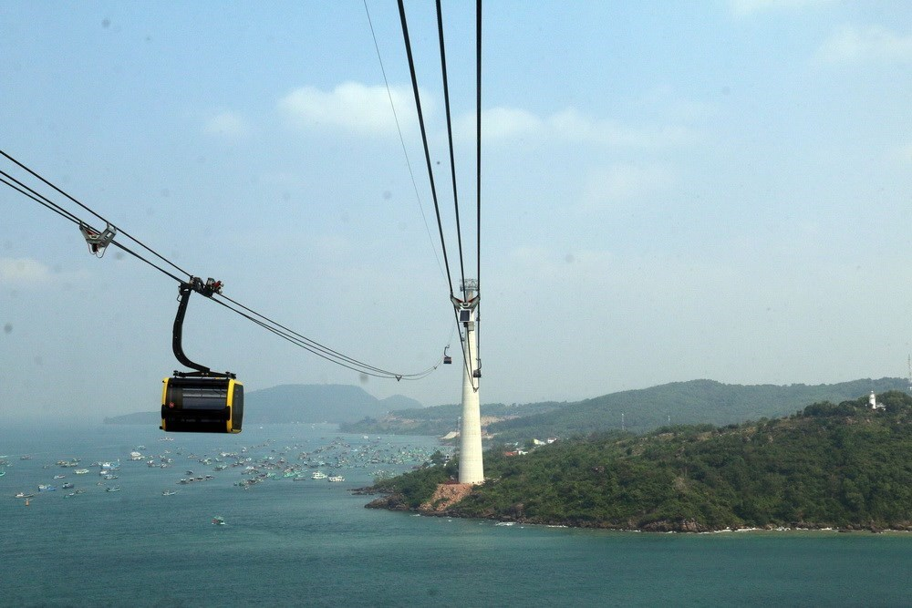 Kien Giang province boasts world's longest cable car route, travel news, Vietnam guide, Vietnam airlines, Vietnam tour, tour Vietnam, Hanoi, ho chi minh city, Saigon, travelling to Vietnam, Vietnam travelling, Vietnam travel, vn news