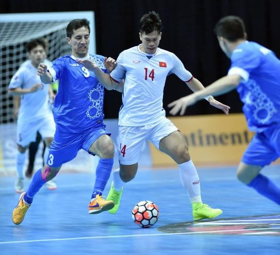 Vietnam loses to Uzbekistan 1-3 at Asian futsal event, Sports news, football, Vietnam sports, vietnamnet bridge, english news, Vietnam news, news Vietnam, vietnamnet news, Vietnam net news, Vietnam latest news, vn news, Vietnam breaking news