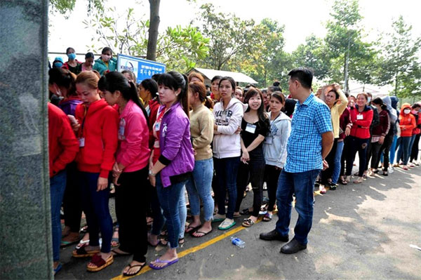 Dong Nai, workers, receive delayed salary, Vietnam economy, Vietnamnet bridge, English news about Vietnam, Vietnam news, news about Vietnam, English news, Vietnamnet news, latest news on Vietnam, Vietnam