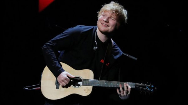 How Ed Sheeran stopped worrying about being fat