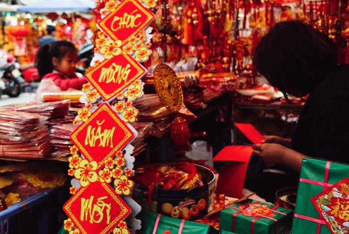 Hanoi brightens up to celebrate Tet, social news, vietnamnet bridge, english news, Vietnam news, news Vietnam, vietnamnet news, Vietnam net news, Vietnam latest news, vn news, Vietnam breaking news