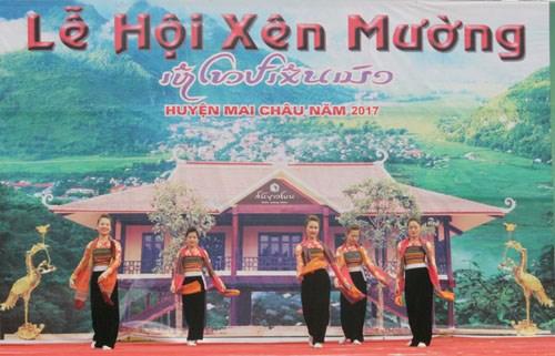 Xen Muong festival highlights Thai customs in Hoa Binh, entertainment events, entertainment news, entertainment activities, what's on, Vietnam culture, Vietnam tradition, vn news, Vietnam beauty, news Vietnam, Vietnam news, Vietnam net news, vietnamnet ne