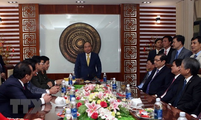 Prime Minister makes New Year visit to Da Nang, Government news, Vietnam breaking news, politic news, vietnamnet bridge, english news, Vietnam news, news Vietnam, vietnamnet news, Vietnam net news, Vietnam latest news, vn news