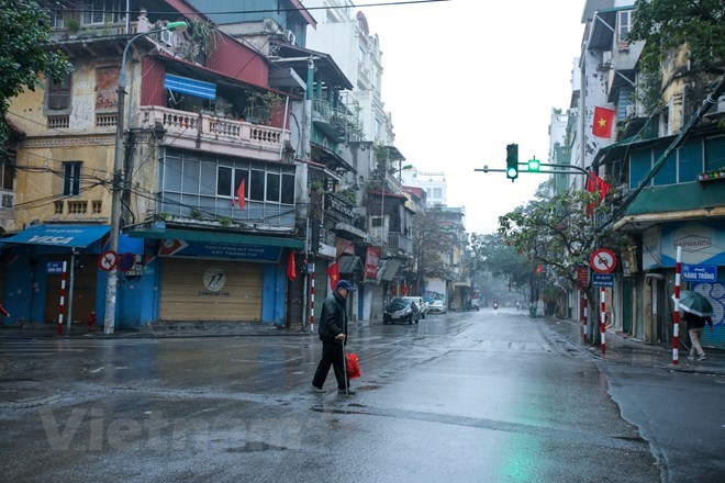 A different Hanoi on first day of Lunar New Year, social news, vietnamnet bridge, english news, Vietnam news, news Vietnam, vietnamnet news, Vietnam net news, Vietnam latest news, vn news, Vietnam breaking news