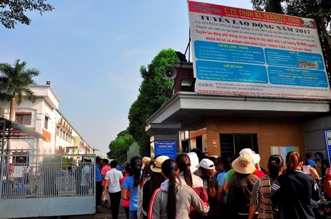 Dong Nai finds jobs for 2,000 workers left unpaid, social news, vietnamnet bridge, english news, Vietnam news, news Vietnam, vietnamnet news, Vietnam net news, Vietnam latest news, vn news, Vietnam breaking news