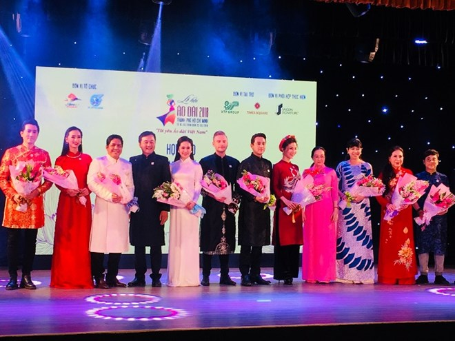 Ho Chi Minh City to kick off annual Ao Dai festival, entertainment events, entertainment news, entertainment activities, what's on, Vietnam culture, Vietnam tradition, vn news, Vietnam beauty, news Vietnam, Vietnam news, Vietnam net news, vietnamnet news,