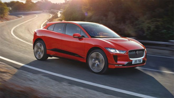 Jaguar, first all-electric SUV