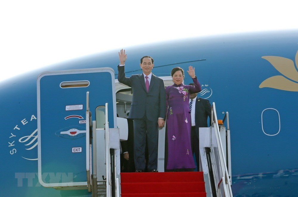 First photos of VN President's State visit to Bangladesh, Government news, Vietnam breaking news, politic news, vietnamnet bridge, english news, Vietnam news, news Vietnam, vietnamnet news, Vietnam net news, Vietnam latest news, vn news