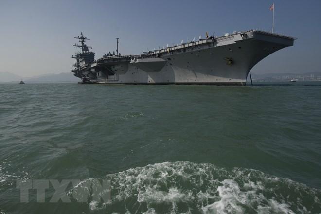 Vietnam officials visit US aircraft carrier, Government news, Vietnam breaking news, politic news, vietnamnet bridge, english news, Vietnam news, news Vietnam, vietnamnet news, Vietnam net news, Vietnam latest news, vn news