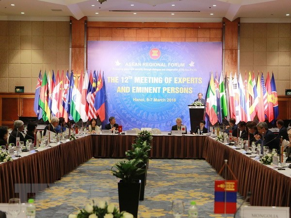 ARF experts and eminent persons meet in Hanoi, Government news, Vietnam breaking news, politic news, vietnamnet bridge, english news, Vietnam news, news Vietnam, vietnamnet news, Vietnam net news, Vietnam latest news, vn news